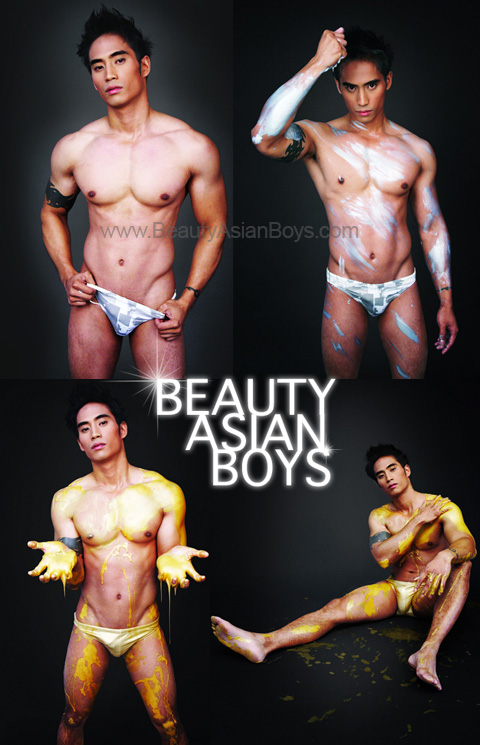 Asian Boys Big Muscle