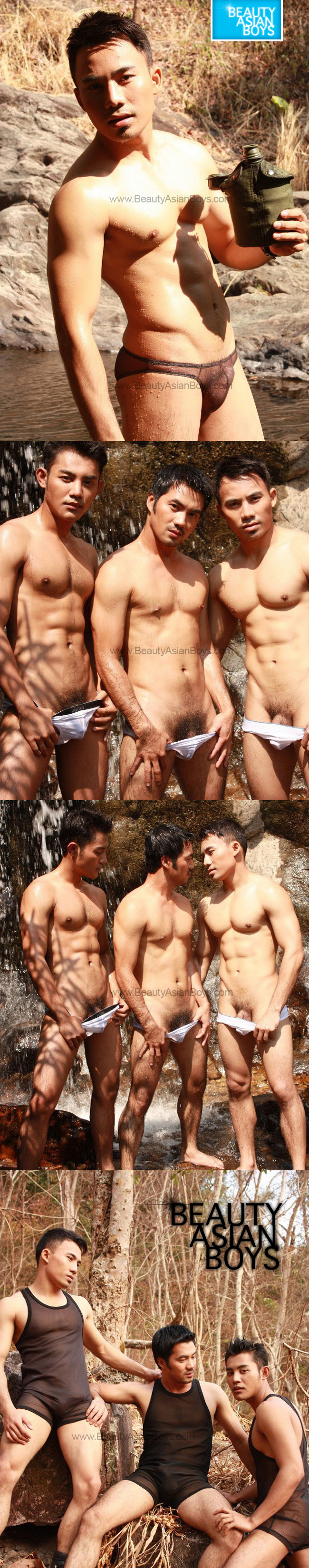 Asian Guy Forest